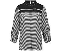 Shirt schwarz / bílá