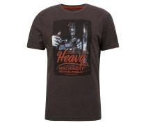 T-Shirt dunkelbraun