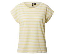 Shirt 'osra Ava' weiß / gelb