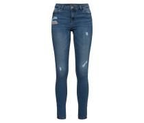 Slimfit Jeans blue denim