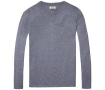 Langarmshirt 'thdm Basic Henley Knit L/S 40'