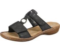 Slipper 'Sandalette' schwarz