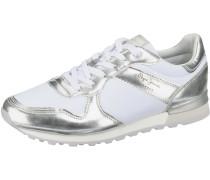 Sneaker 'Verona W Greek' silber / weiß