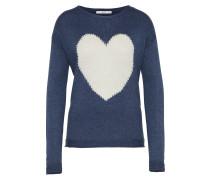 Pullover 'E Heart' navy