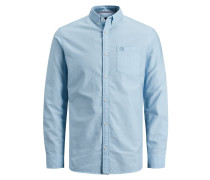 Oxford Hemd hellblau