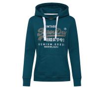 Sweatshirt 'premium Goods Rhinestone Entry Hood'
