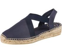 Sandale 'Verona' blau / beige