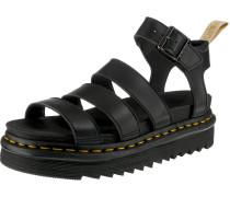 Sandalen 'V Blaire' schwarz