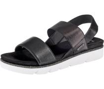 Sandale 'Kiko' schwarz