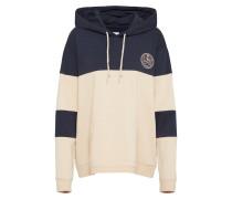 Sweatshirt 'grimm' creme / navy