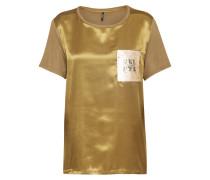 T-Shirt 'sally' oliv