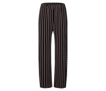 Hose 'Lista Trousers' schwarz
