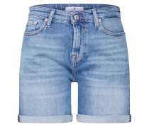 Shorts 'boy' blue denim