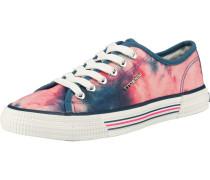 Sneaker blau / hellpink / weiß