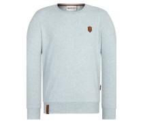 Sweatshirt 'Al K.Ohol' azur