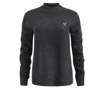 Pullover 'lourdes' grau / schwarz