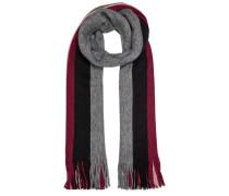Schal grau / rosa / rot / schwarz