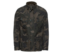 Jacke 'Washed Camo Cas'