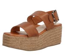 Sandale 'obi' braun / sand