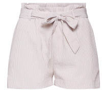 Shorts beige / weiß