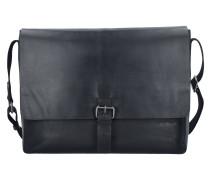'Scott' Messenger Tasche Leder 39 cm Laptopfach