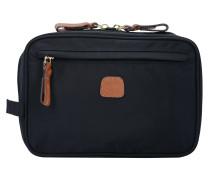 Kosmetiktasche 'X-Bag' 21 cm schwarz