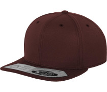 Snapback '110 Fitted' weinrot
