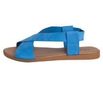 Leder Sandalen blau