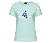 T-Shirt Gouverneur Damen blau / türkis