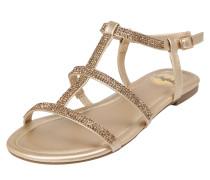 Sandale 'emira' gold