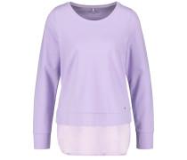 Langarmshirt lavendel