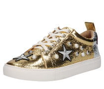 'lippy' Sneakers gold