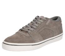 Sneaker aus Veloursleder grau