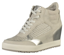Sneaker hellgrau / silber