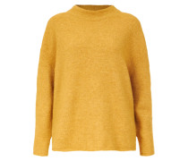 Strickpullover 'boxy High Neck' senf