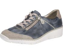 Sneakers hellbeige / blau