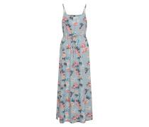 Kleid pastellblau / pastellrot