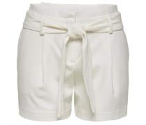 Paperbag Shorts weiß