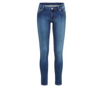 'Low Skin' Skinny Jeans blue denim