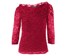 Carmenshirt rubinrot
