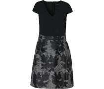 Kleid grau / schwarz