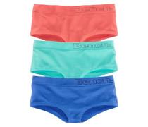 Panty (3 Stück) blau / mint / melone