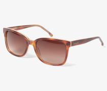 Sonnenbrille braun / honig
