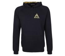 Pullover nachtblau / hellgelb