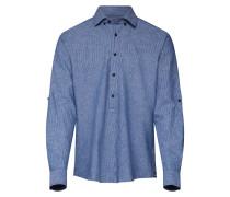 Hemd 'Hennry-W' blau