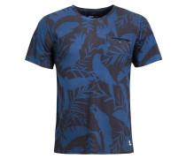 Shirt 'tevarez' blau / schwarz