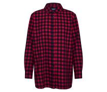 Bluse rot / schwarz