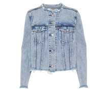 Jeansjacke 'altered ZIP Trucker' blue denim
