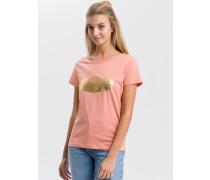Shirt koralle / gold
