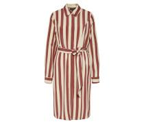 Kleid 'slflouise' braun / weiß